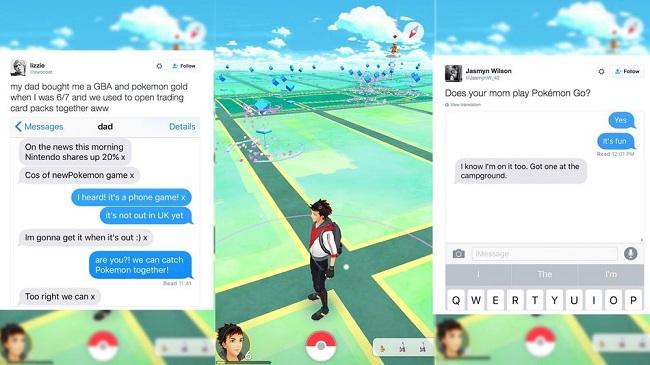 Hơn cả một trò chơi, Pokémon GO! còn giúp gắn kết người thân trong gia đình - Ảnh 1.