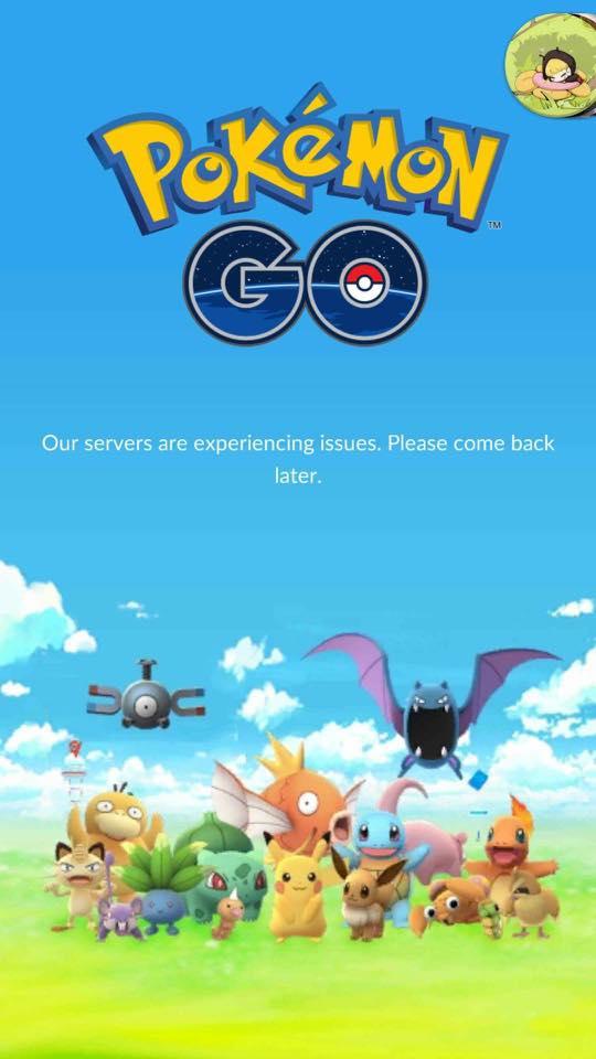 Pokémon Go! của bạn đang bị lỗi? Đừng lo, chỉ vì quá nhiều người đang chơi thôi - Ảnh 2.