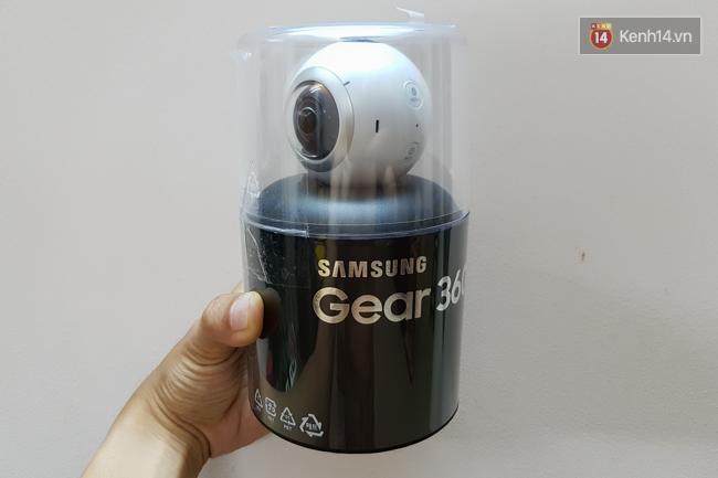 Trải nghiệm Gear 360: Bấm một lần, chụp cả thế giới - Ảnh 1.