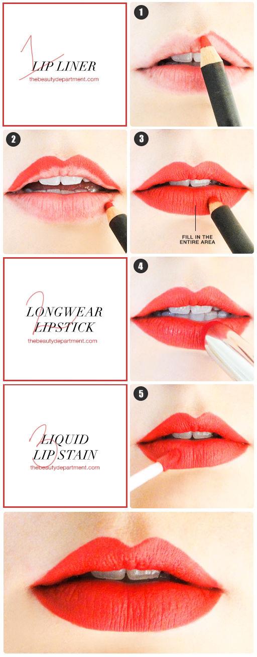 10 tips không bao giờ cũ với các cô nàng nghiện son môi - Ảnh 8.
