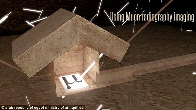 Lần đầu tiên, hình ảnh 3D về cấu trúc bên trong kim tự tháp được tiết lộ - Ảnh 5.