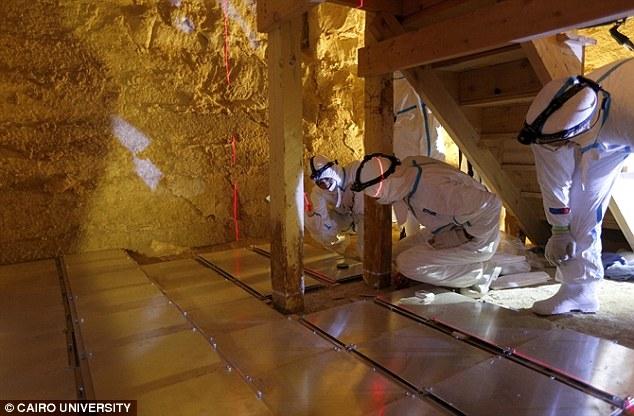 Lần đầu tiên, hình ảnh 3D về cấu trúc bên trong kim tự tháp được tiết lộ - Ảnh 4.