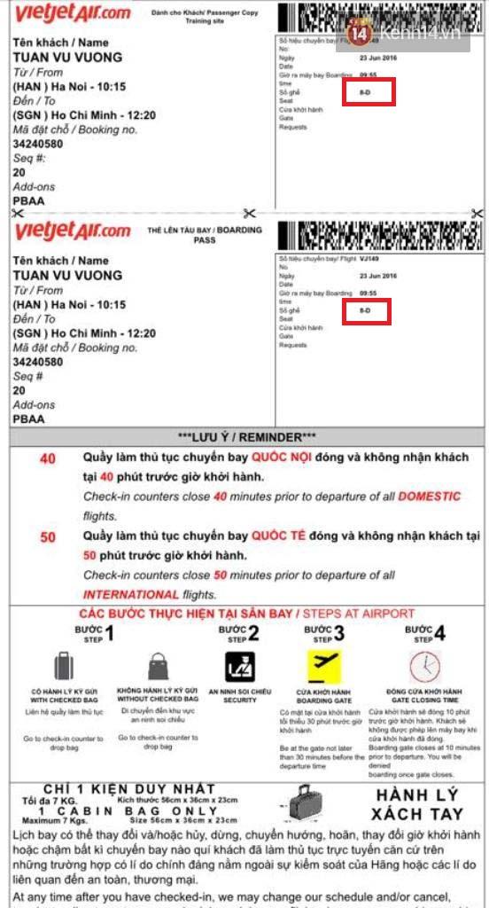Hành khách Vietjet có số vé nhưng lên máy bay vẫn phải xin... ngồi nhờ vì không có chỗ - Ảnh 1.