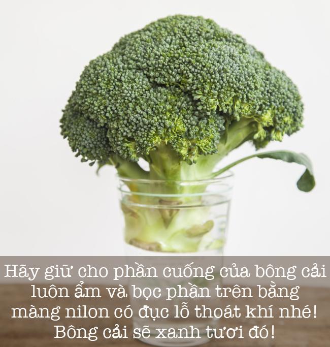 8 mẹo vặt giúp giữ rau củ quả tươi lâu mà ai cũng phải biết - Ảnh 7.