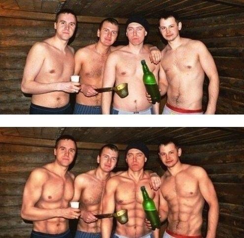 11 tấm hình Photoshop quá đà của những anh chàng thích khoe mẽ - Ảnh 10.