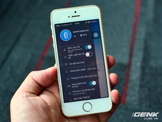Vòng đeo tay Huawei TalkBand B2: theo dõi sức khỏe, kiêm luôn tai nghe không dây - Ảnh 11.