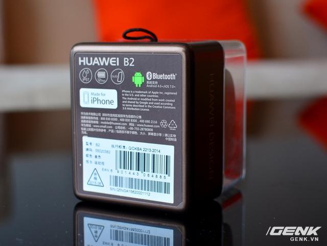Vòng đeo tay Huawei TalkBand B2: theo dõi sức khỏe, kiêm luôn tai nghe không dây - Ảnh 16.