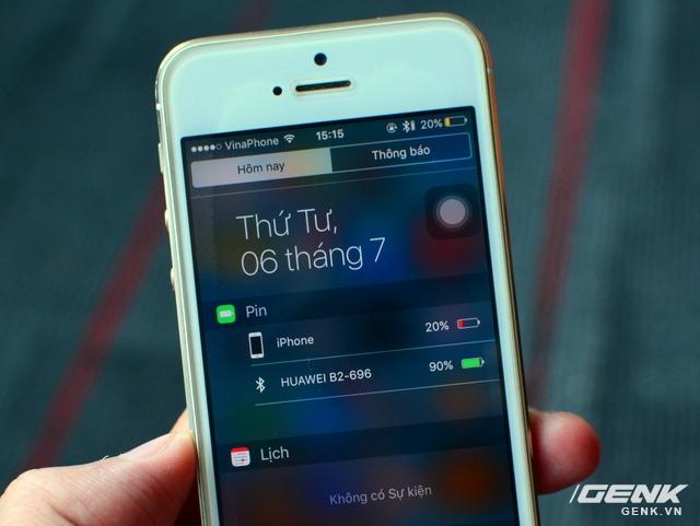 Vòng đeo tay Huawei TalkBand B2: theo dõi sức khỏe, kiêm luôn tai nghe không dây - Ảnh 9.