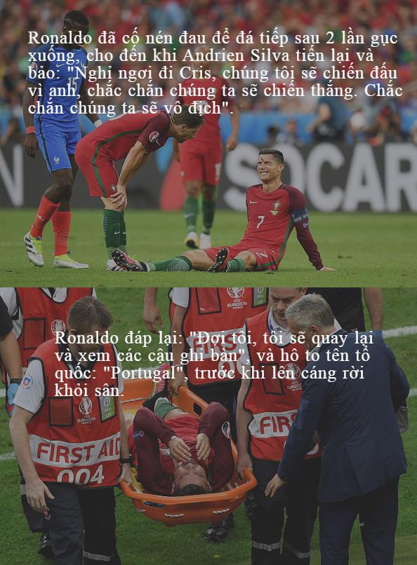 Chỉ chơi 25 phút trận chung kết, Ronaldo vẫn trở nên vĩ đại