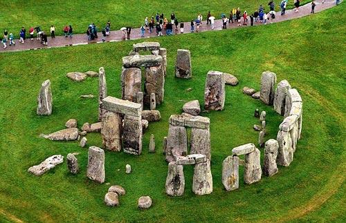 kỳ quan, bãi đá cổ Stonehenge, Anh