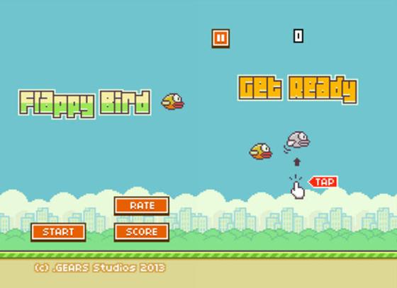 Flappy Bird kiếm tiền tỷ mỗi ngày từ quảng cáo 1