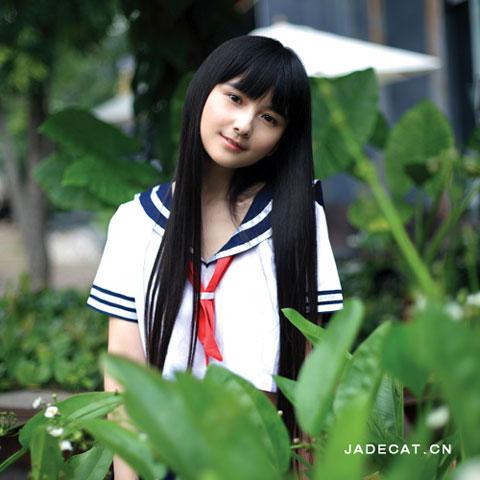 Những hot girl Trung Quốc có vẻ đẹp thiên thần 39