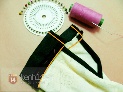 Chi tiết cách may áo sơ mi ren dịu dàng nữ tính 14