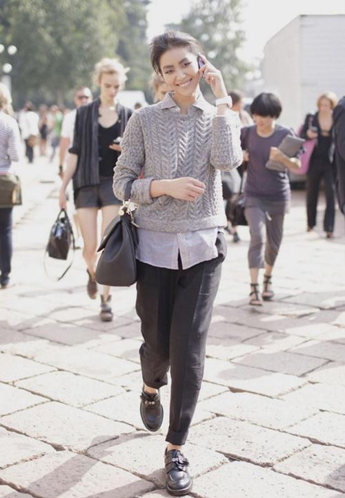Phong cách cá tính, thời thượng của siêu mẫu số 1 châu Á - Liu Wen 26