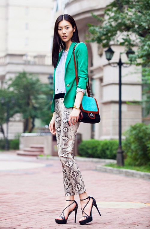 Phong cách cá tính, thời thượng của siêu mẫu số 1 châu Á - Liu Wen 28