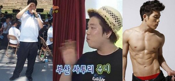 """Những thành tích giảm cân """"khủng"""" của ca sỹ Hàn 2"""