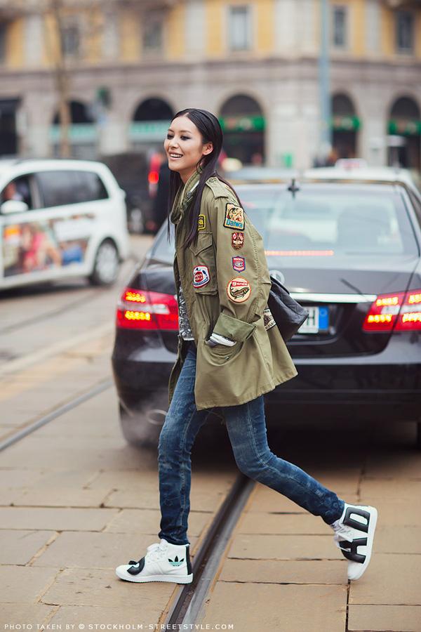 Phong cách cá tính, thời thượng của siêu mẫu số 1 châu Á - Liu Wen 11