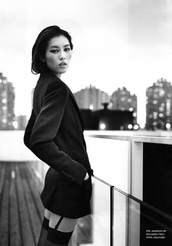 Phong cách cá tính, thời thượng của siêu mẫu số 1 châu Á - Liu Wen 7