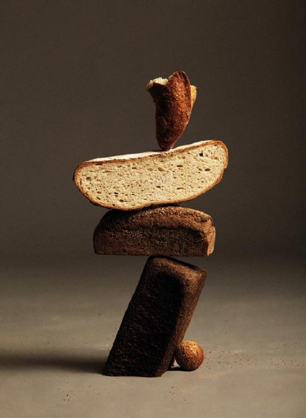"""Ứng dụng tâm trọng điểm: Bánh mì """"làm xiếc"""" thăng bằng 3"""