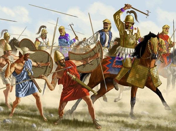 Đội quân đồng tính bất bại thời Hy Lạp cổ đại 8
