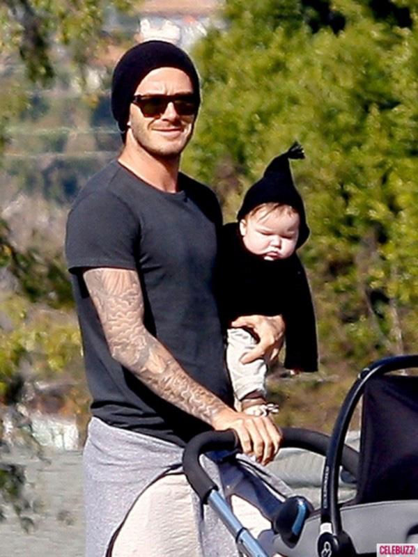 Những hình ảnh siêu dễ thương của bé Harper Seven Beckham 6