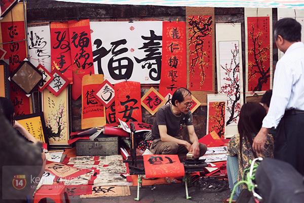 An Japan, Khả Ngân dạo phố đầu xuân, xin chữ ông đồ 8