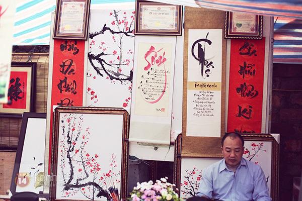 An Japan, Khả Ngân dạo phố đầu xuân, xin chữ ông đồ 10