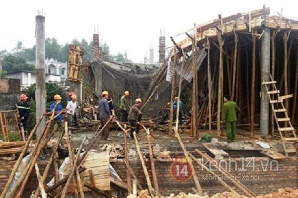 2 ngày, Thái Nguyên liên tiếp xảy ra hai vụ sập công trình xây dựng 1