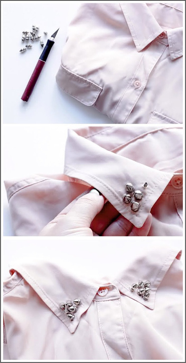 Biến áo cũ thành mới với các mẹo siêu đơn giản 4