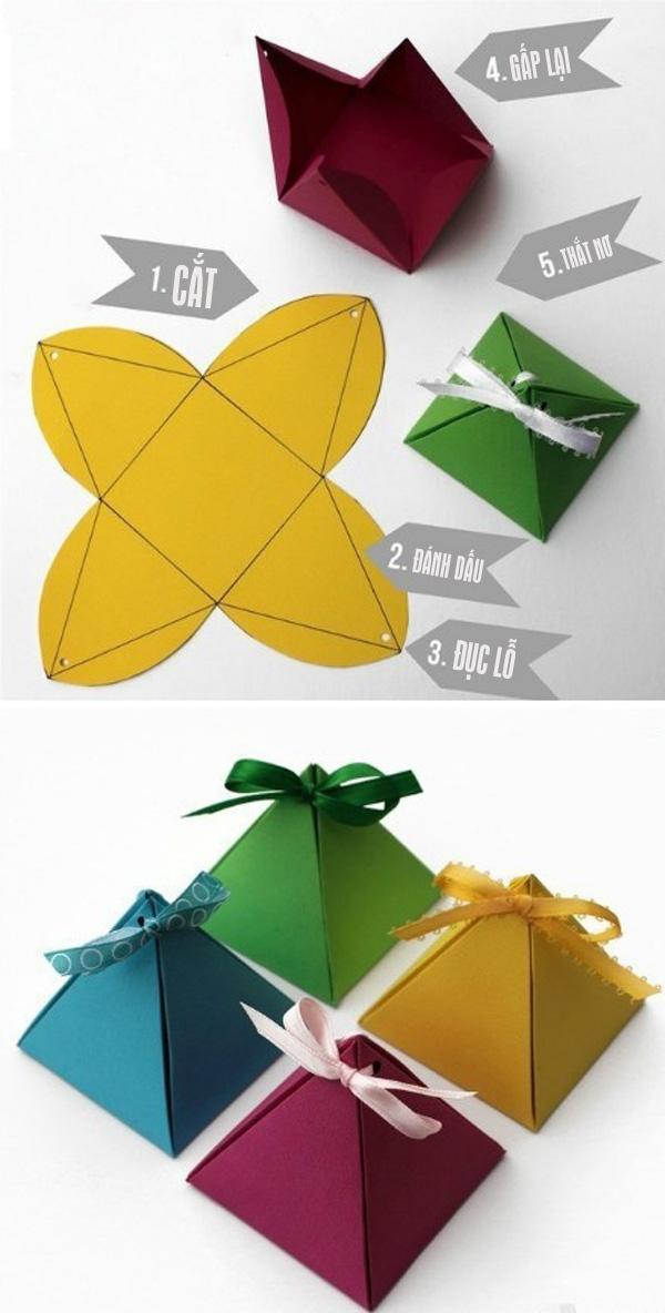 Các cách làm thiệp và hộp quà đơn giản 2