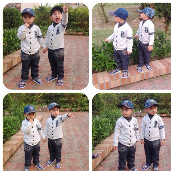 Minh Vương (M4U) khoe 2 con trai nuôi song sinh 15