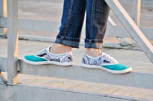 16 kiểu thay đổi cực hay để độ đôi giày sneaker chào hè khiến bạn thích m0ê