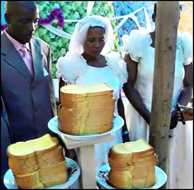 Bạn sẽ hiểu thế nào là tình yêu thực sự khi biết chiếc bánh cưới này làm bằng gì - Ảnh 1.