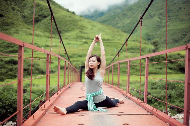 Tập Yoga tại tất cả mọi nơi mình đi qua - cô gái người Việt này đang truyền cảm hứng cho rất nhiều người! - Ảnh 17.
