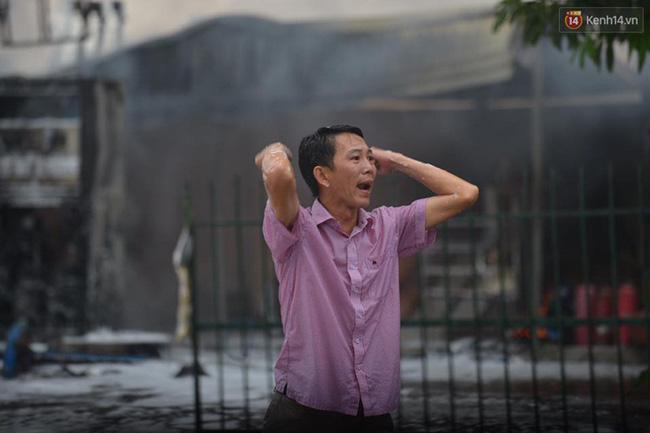 Hà Nội: Cháy dữ dội tại cây xăng ở chợ đầu mối Hoàng Mai - Ảnh 9.