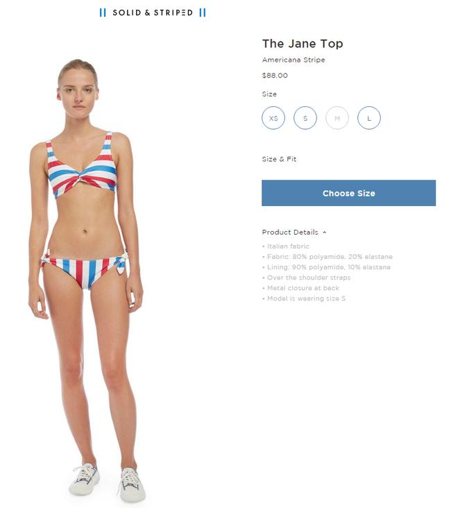 Taylor Swift vừa mặc bộ đồ bơi này, dân tình đã lập tức đổ xô tìm kiếm - Ảnh 3.