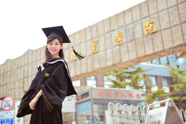 Loạt ảnh những nữ thần giảng đường Trung Quốc xinh như mơ trong ngày tốt nghiệp - Ảnh 9.