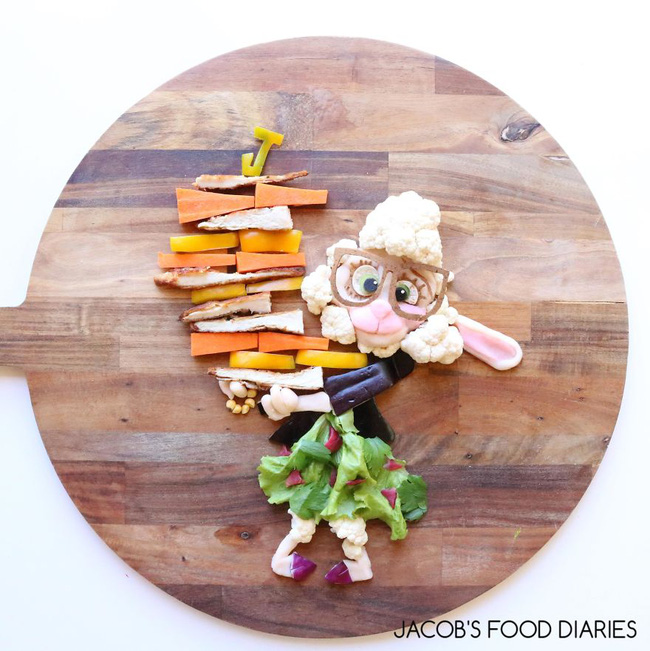 Dụ dỗ hội nhi đồng lười ăn rau bằng những suất ăn hoạt hình siêu dễ thương - Ảnh 9.