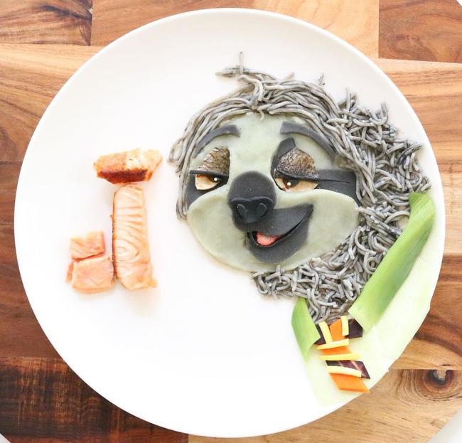 Dụ dỗ hội nhi đồng lười ăn rau bằng những suất ăn hoạt hình siêu dễ thương - Ảnh 11.