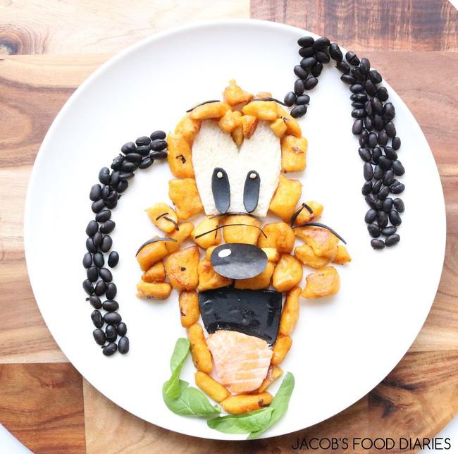 Dụ dỗ hội nhi đồng lười ăn rau bằng những suất ăn hoạt hình siêu dễ thương - Ảnh 1.