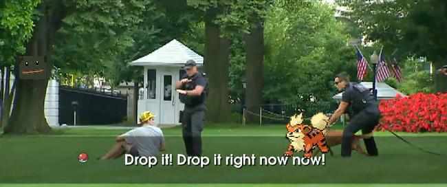 Nhà Trắng cũng phải thất thủ trước người chơi Pokémon GO! - Ảnh 3.