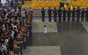 Trời Hà Nội đổ mưa trong ngày tiễn biệt các chiến sĩ phi hành đoàn CASA-212