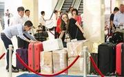 Thanh Thảo mang 200kg hành lý ra Hà Nội để phục vụ cho liveshow