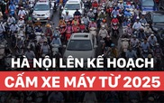 Hà Nội lên kế hoạch cấm xe máy từ 2025