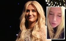 Kesha quay video hát cảm ơn mọi người sau vụ kiện