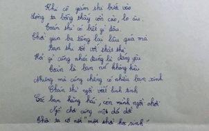 """Màn """"phóng bút thành thơ"""" của sĩ tử này khiến ai đọc được cũng đều bật cười!"""