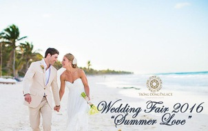 Đến triển lãm cưới tại Trống Đồng check-in bãi biển ngay tại Hà Nội