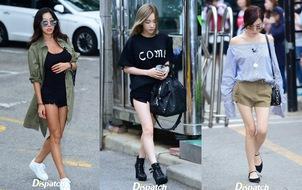 Taeyeon - Tiffany lộ chân trắng ngần, SISTAR cùng dàn mỹ nhân thần tượng đọ đùi mật ong