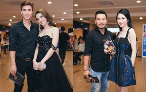 Hai người đẹp ồn ào bậc nhất showbiz Việt thời gian qua cùng hội ngộ tại sự kiện