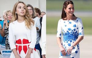 Ngôi vị mặc đẹp của Công nương Kate bị lung lay bởi nàng công chúa 19 tuổi